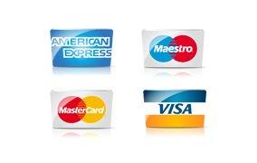 Такси Бизнес Класс -принимаем основные дебитные и кредитные карты