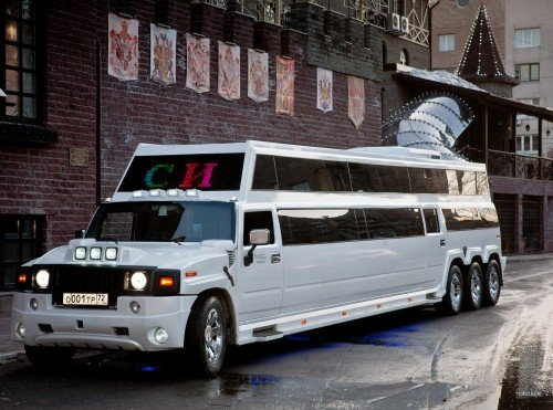 Лимузин Хаммер Бас / Limo Hummer Bus Тюмень
